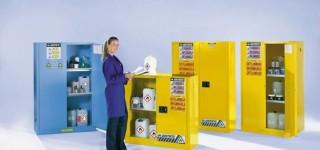 Шкафы для хранения коррозийных жидкостей